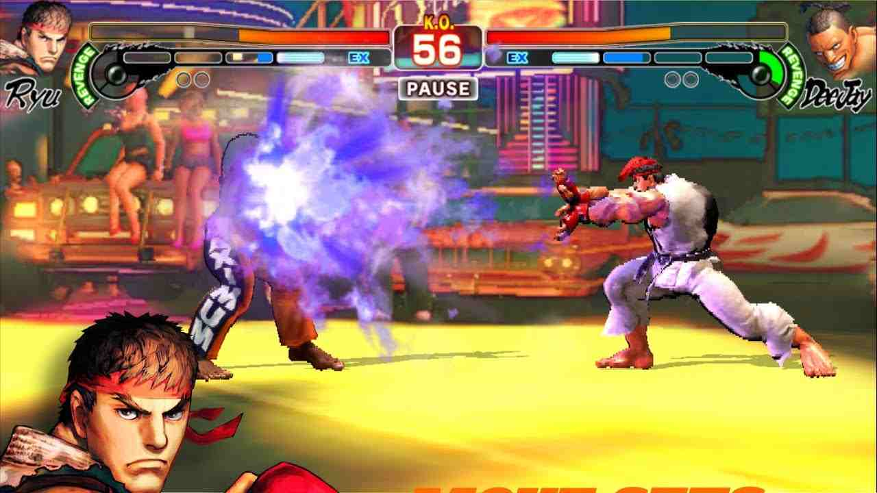 game Street Fighter IV Champion Edition mod