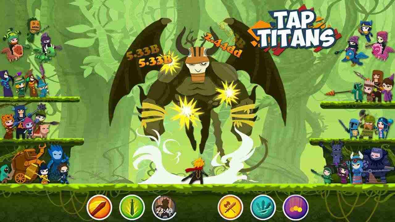 game Tap Titans 2 mod hack