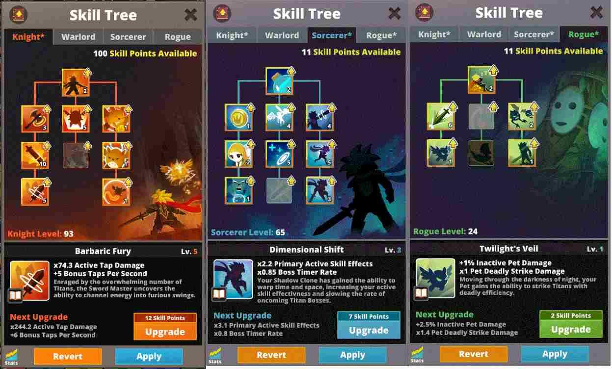 game Tap Titans 2 mod