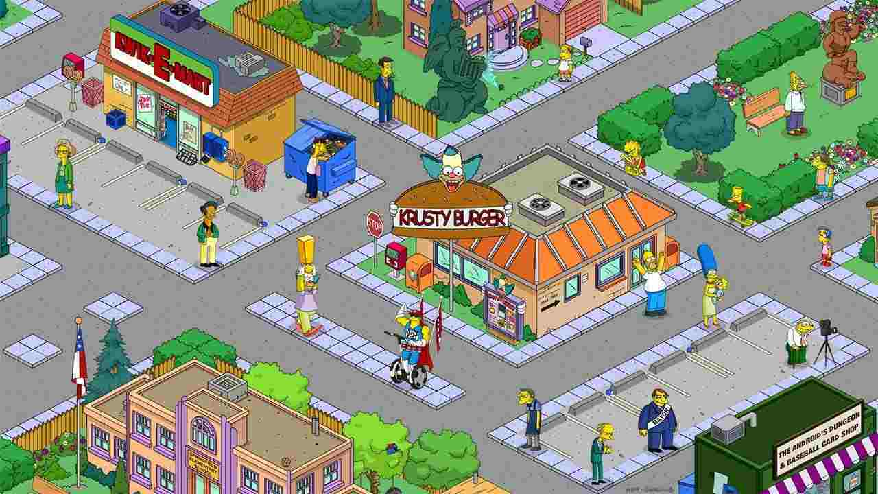 game The Simpsons mod hack