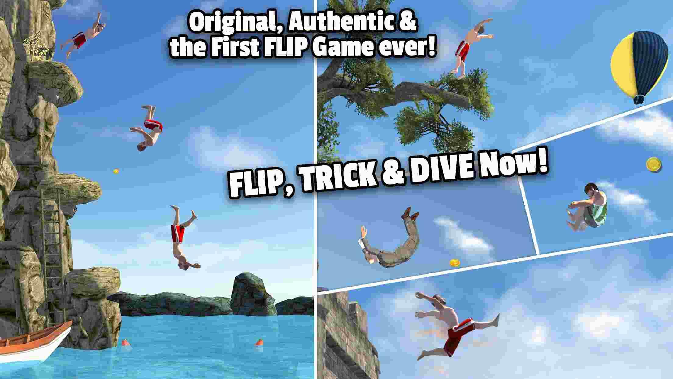 tai game Flip Diving mod apk