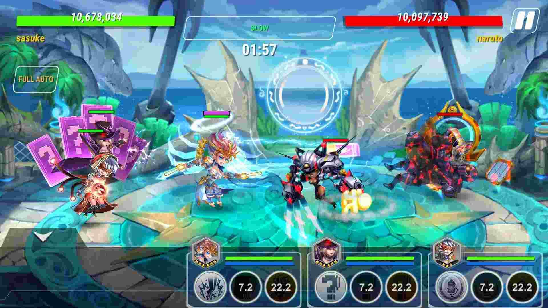 tai game Heroes Infinity mod apk