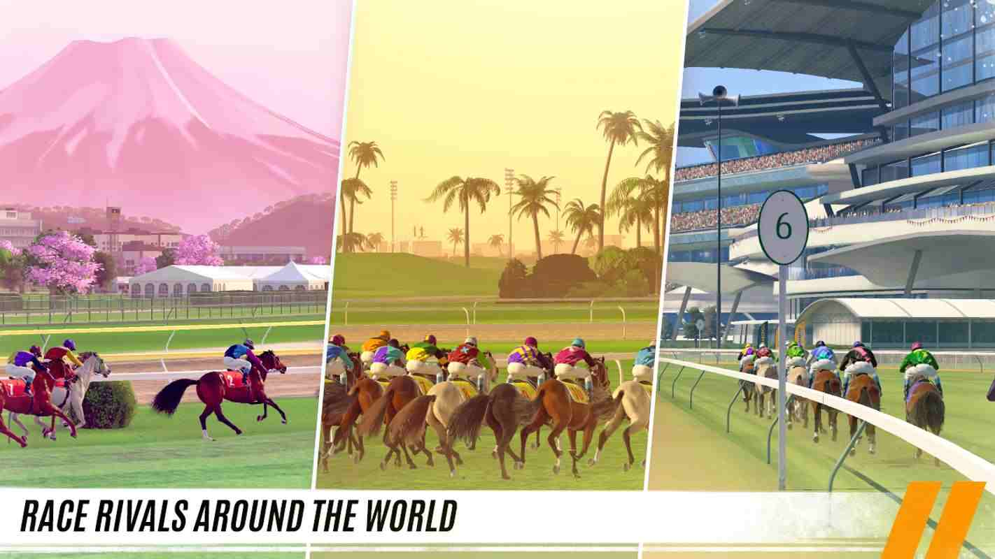 tai game Rival Stars Horse Racing mod apk