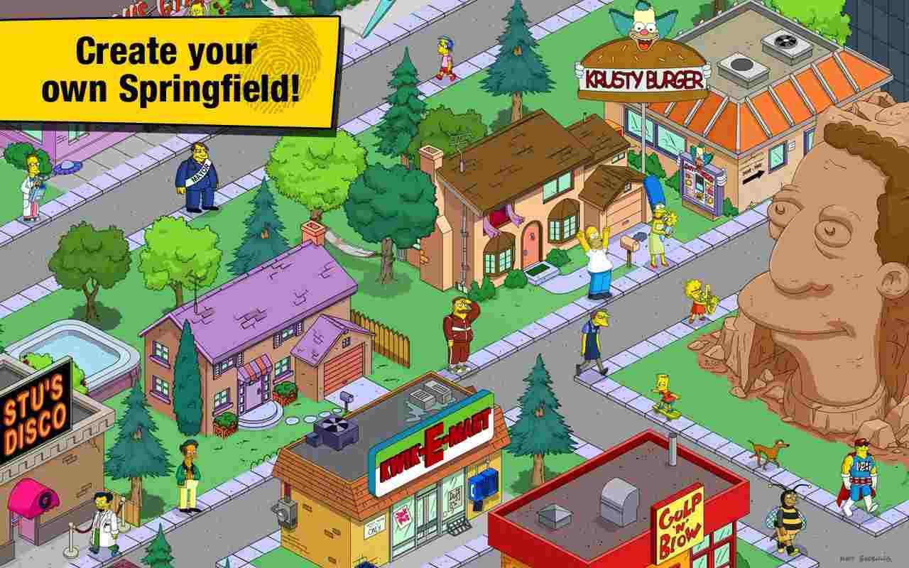 tai game The Simpsons mod apk