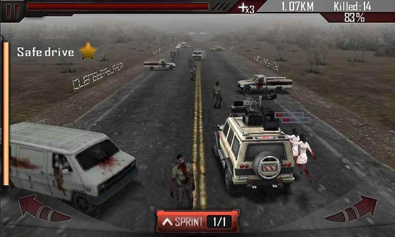tai game Zombie Roadkill 3D mod apk