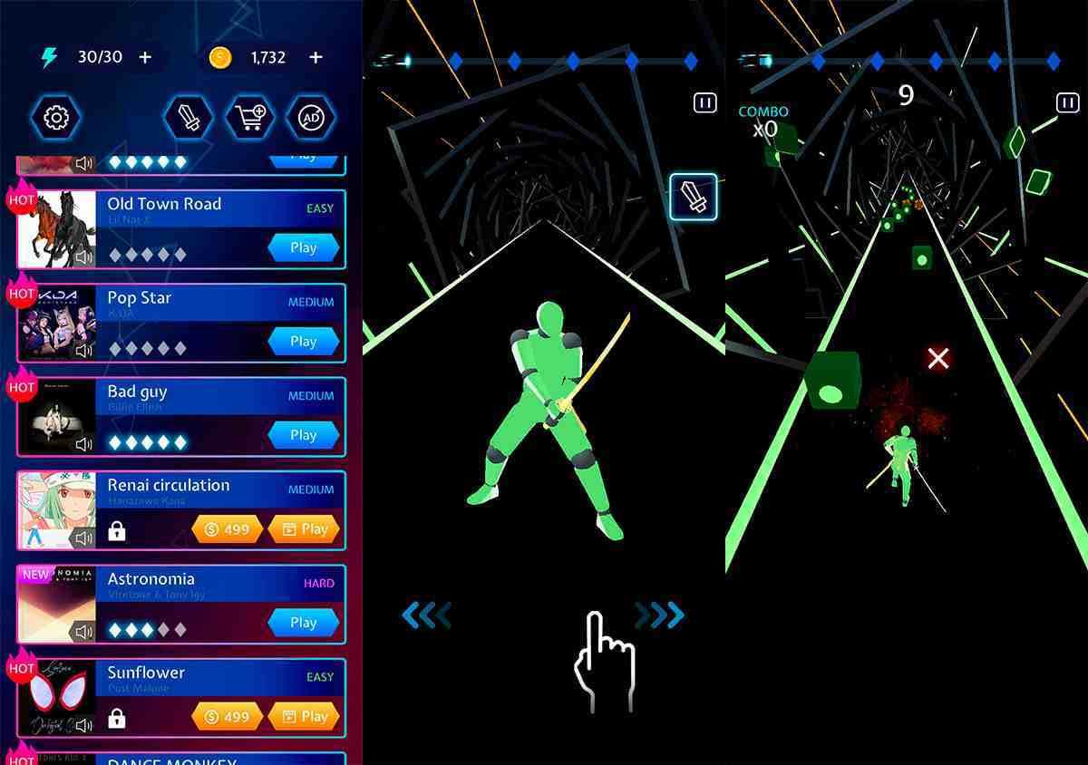 Beat Blade Dash Dance mod apk