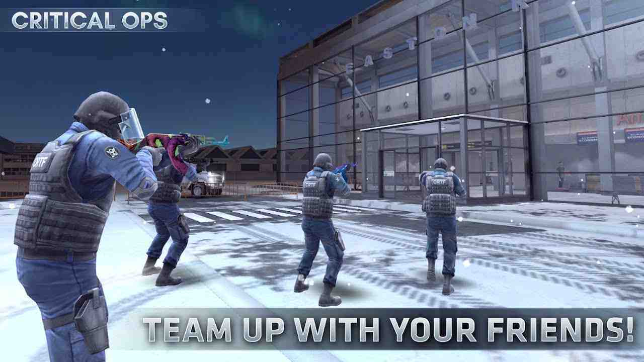 Critical Ops mod apk cho android