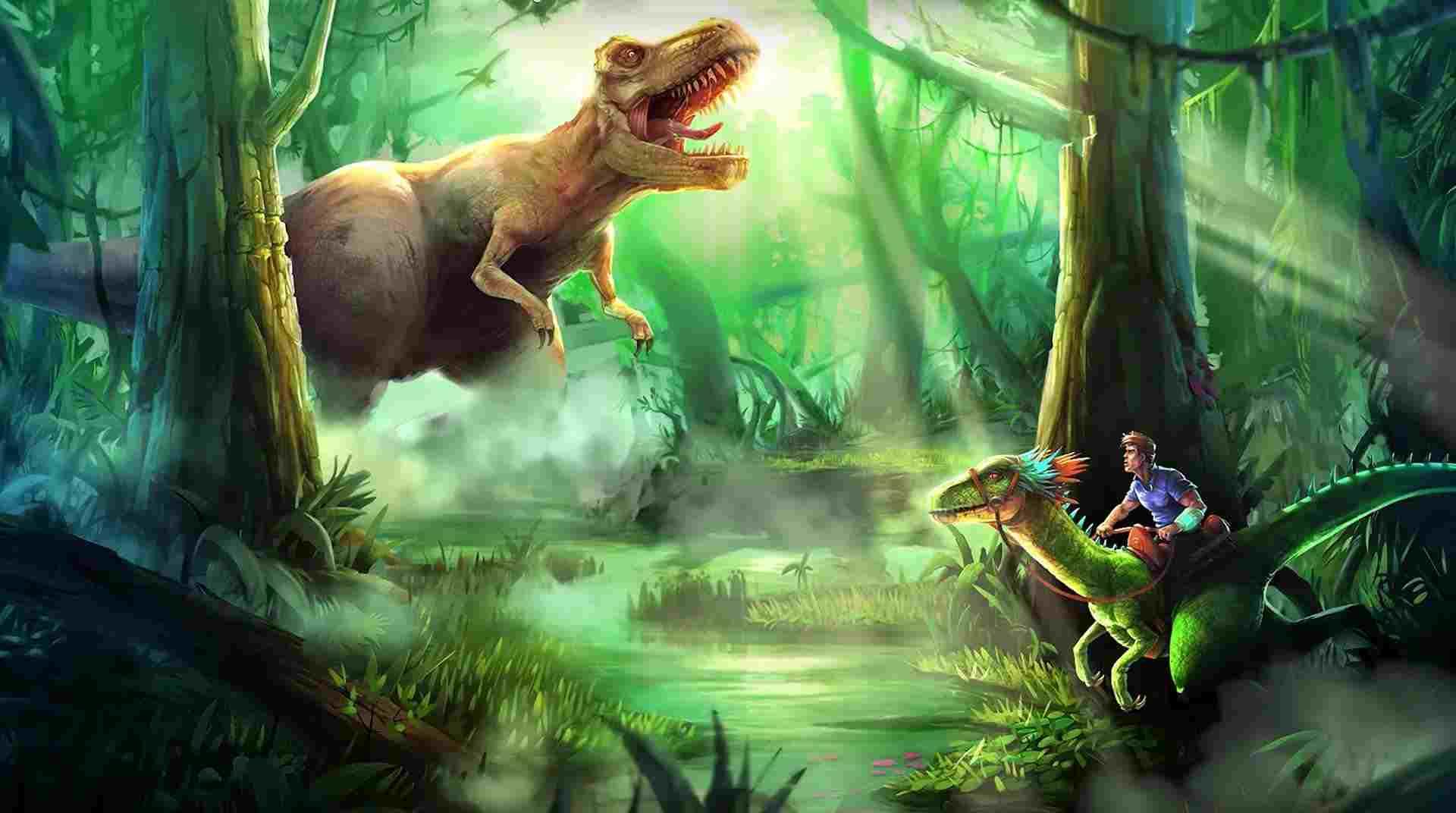 Dino Tamers mod apk