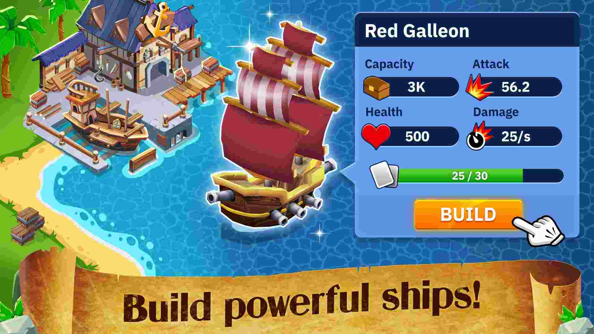 Idle Pirate Tycoon mod