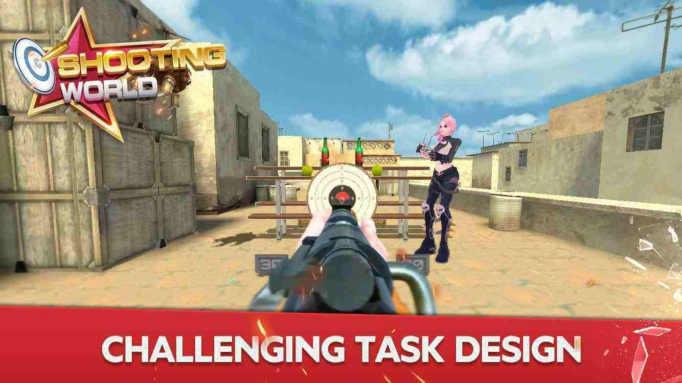 Shooting World mod apk