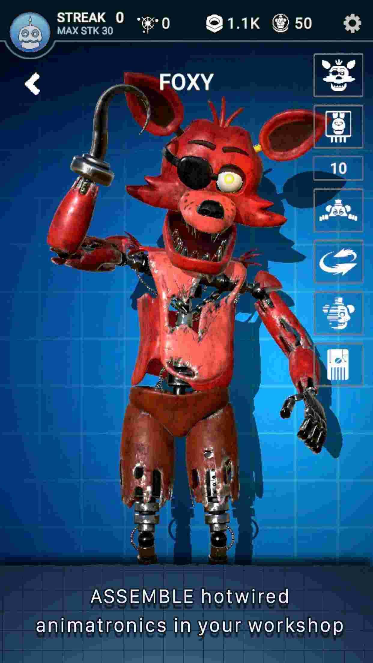 Tai Five Nights at Freddy's AR Mod