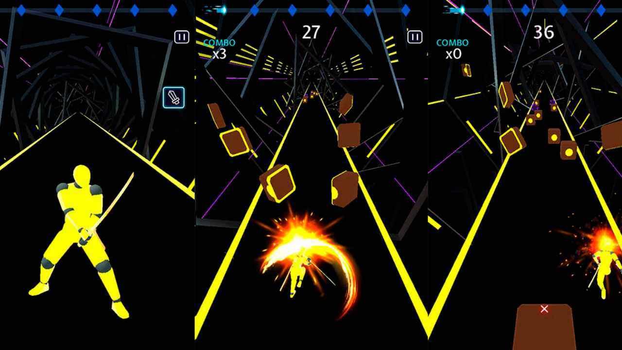 game Beat Blade Dash Dance mod