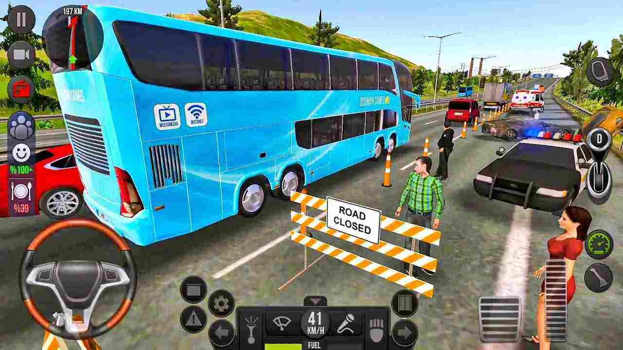 game Bus Simulator Original mod hack