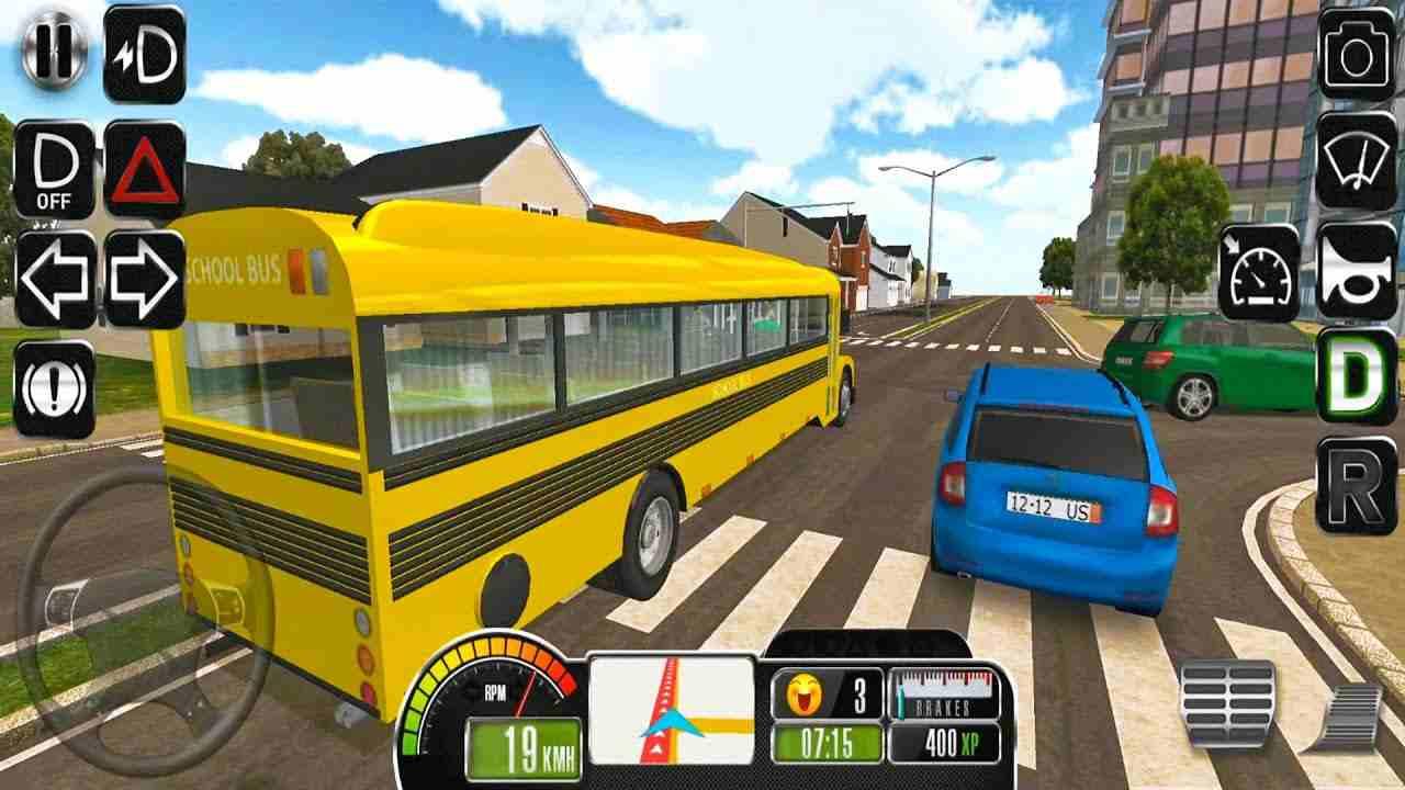 game Bus Simulator Original mod
