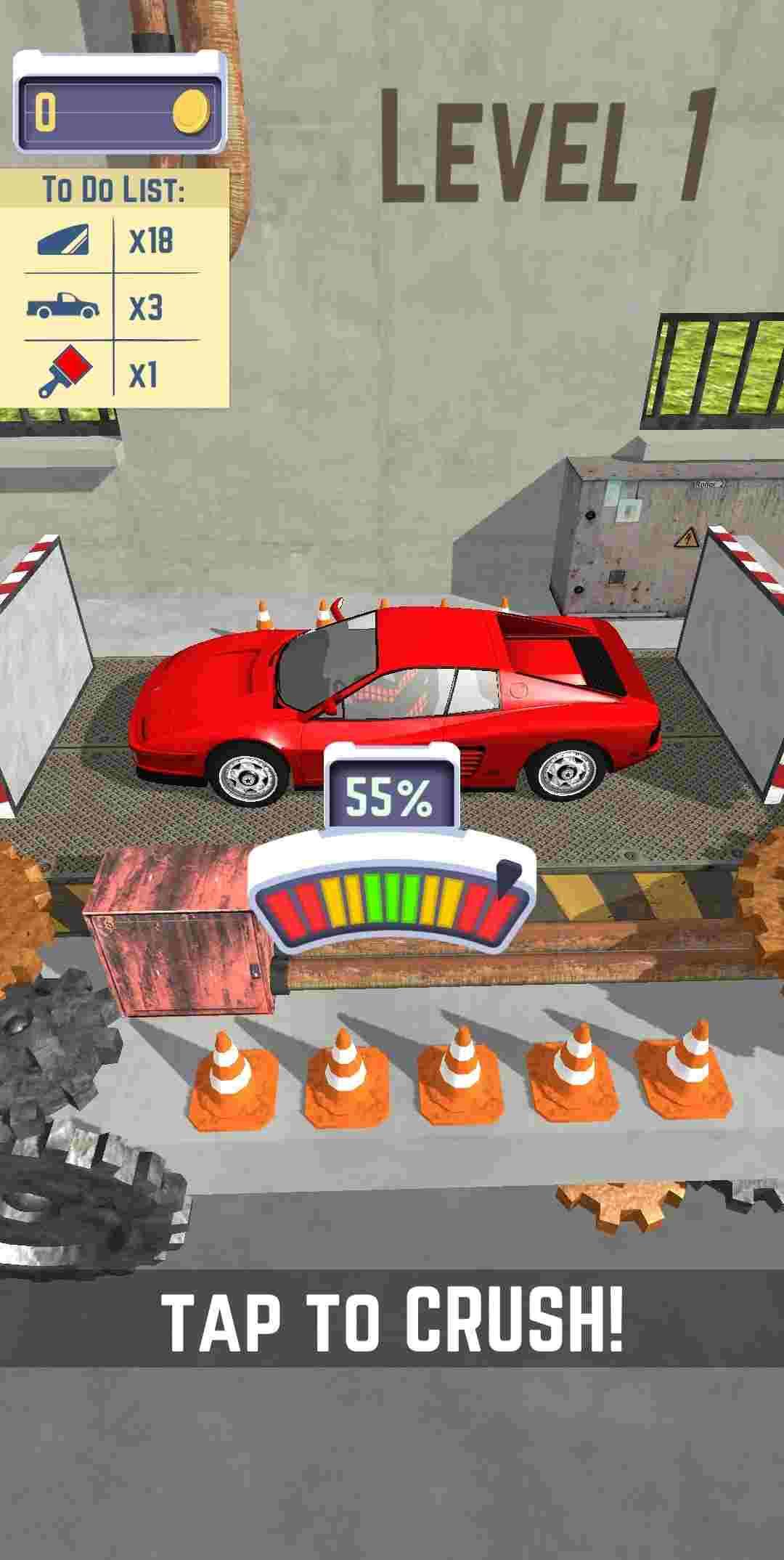 game Car Crusher mod hack