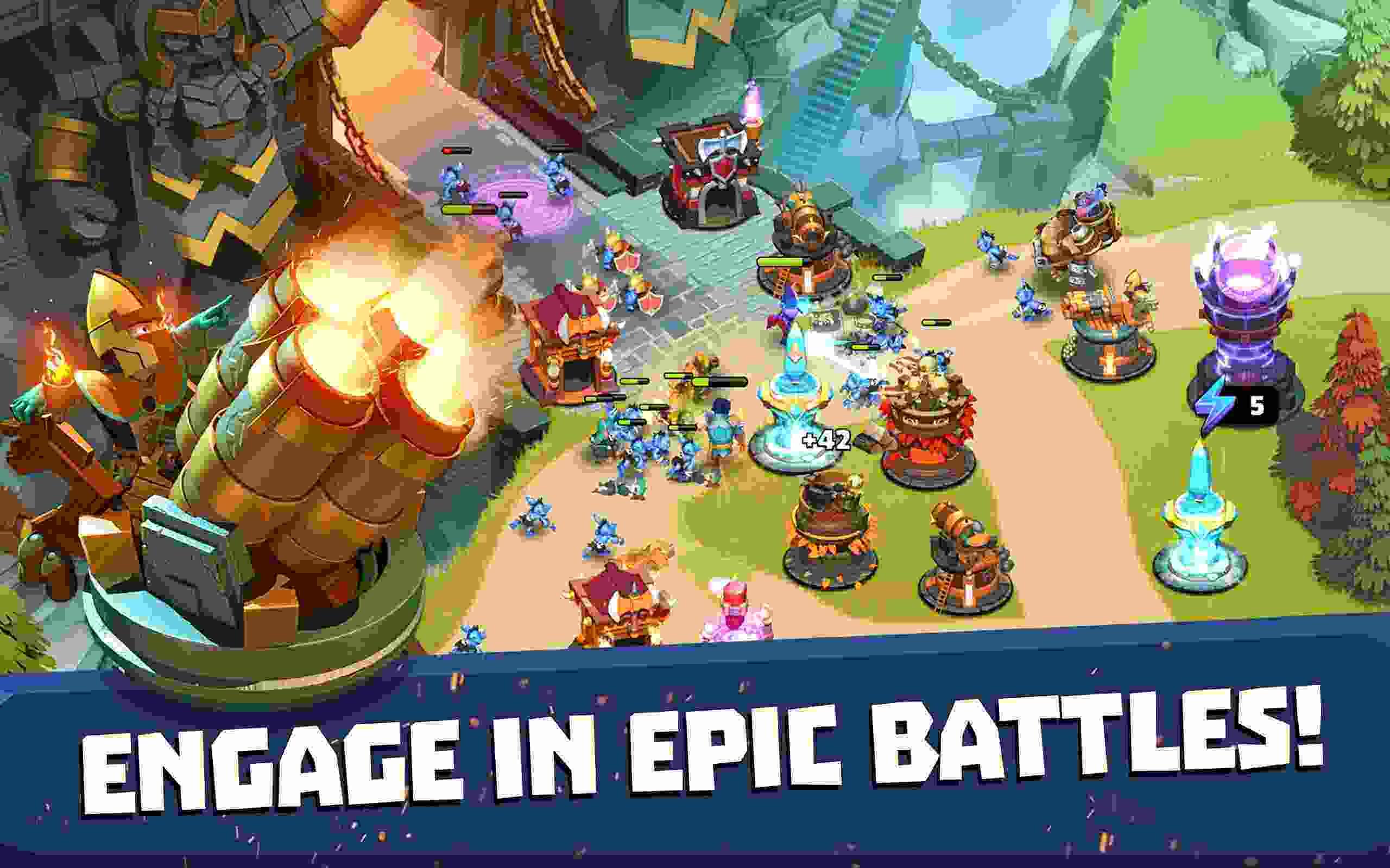 game Castle Creeps TD mod hack