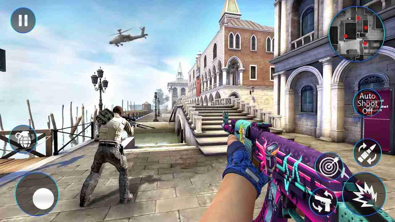 game Cover Strike mod hack