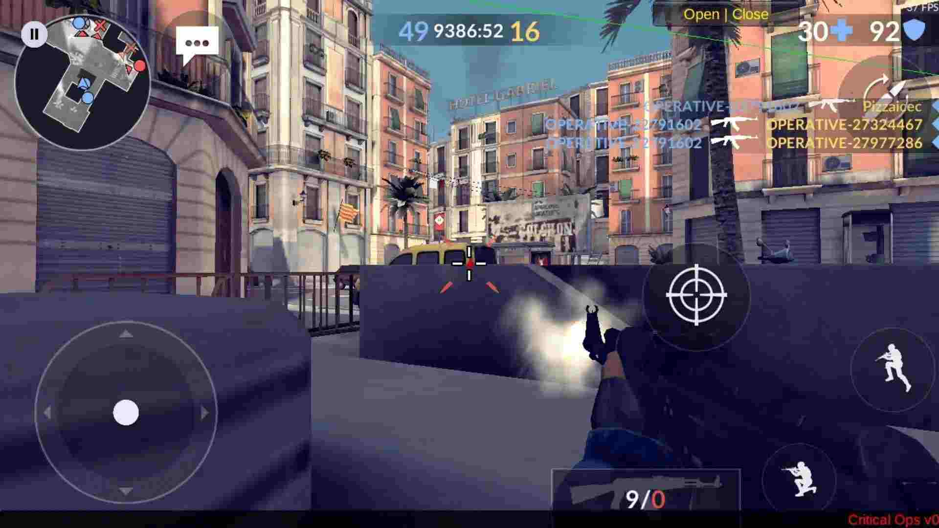 game Critical Ops mod hack