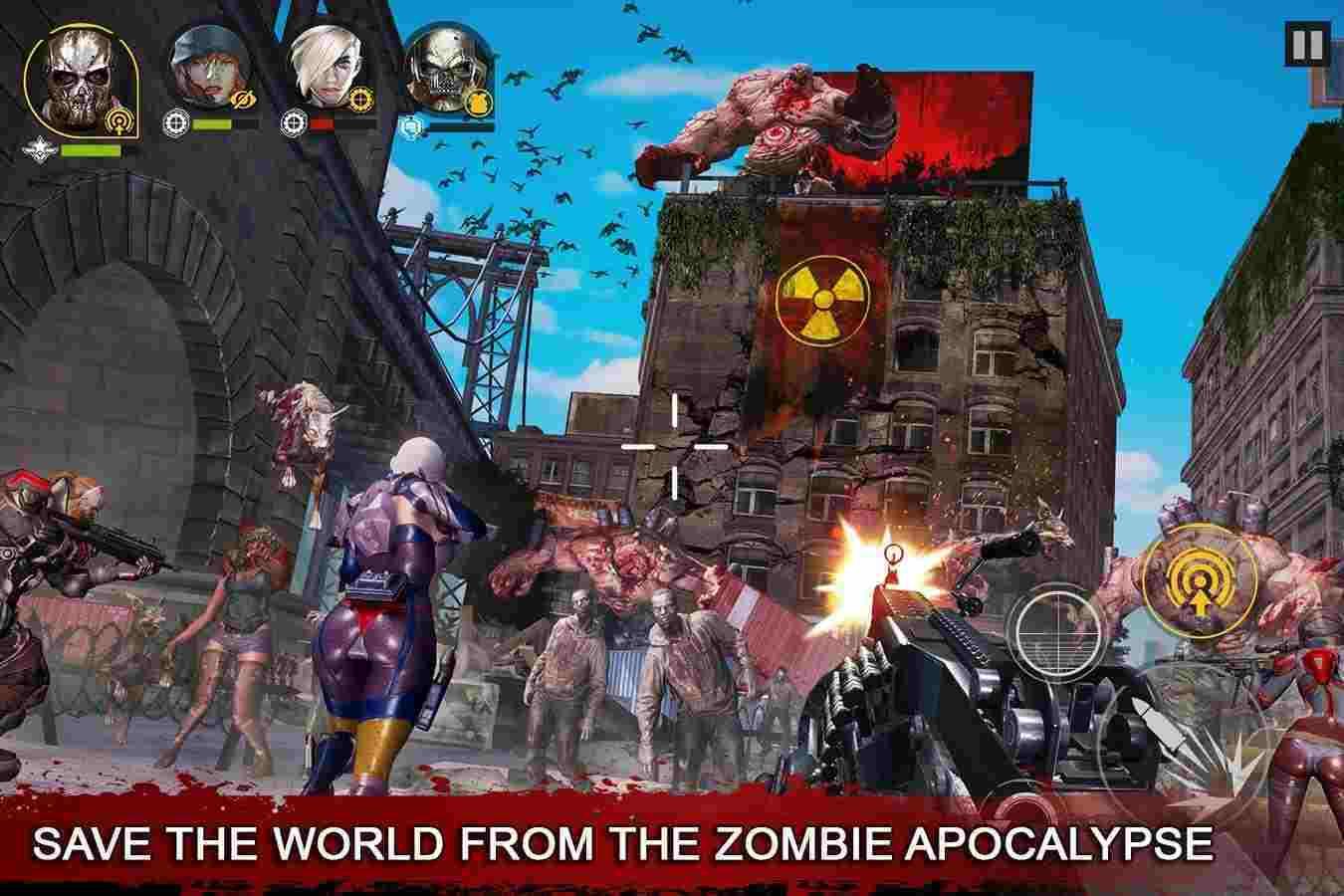 game DEAD WARFARE Zombie mod