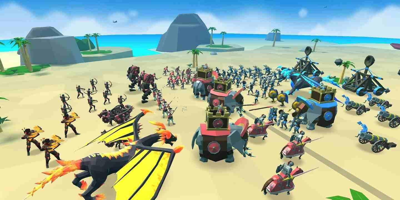 game Epic Battle Simulator 2 mod hack