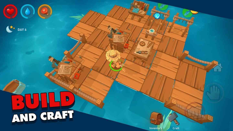 game Epic Raft mod hack