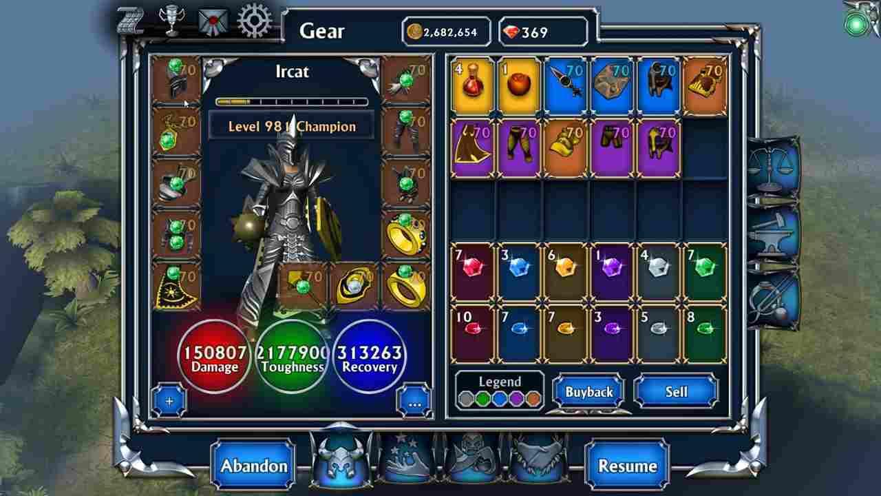game Eternium mod