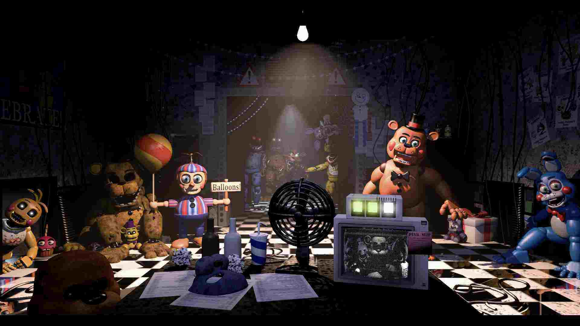 game Five Nights at Freddy's 2 mod hack