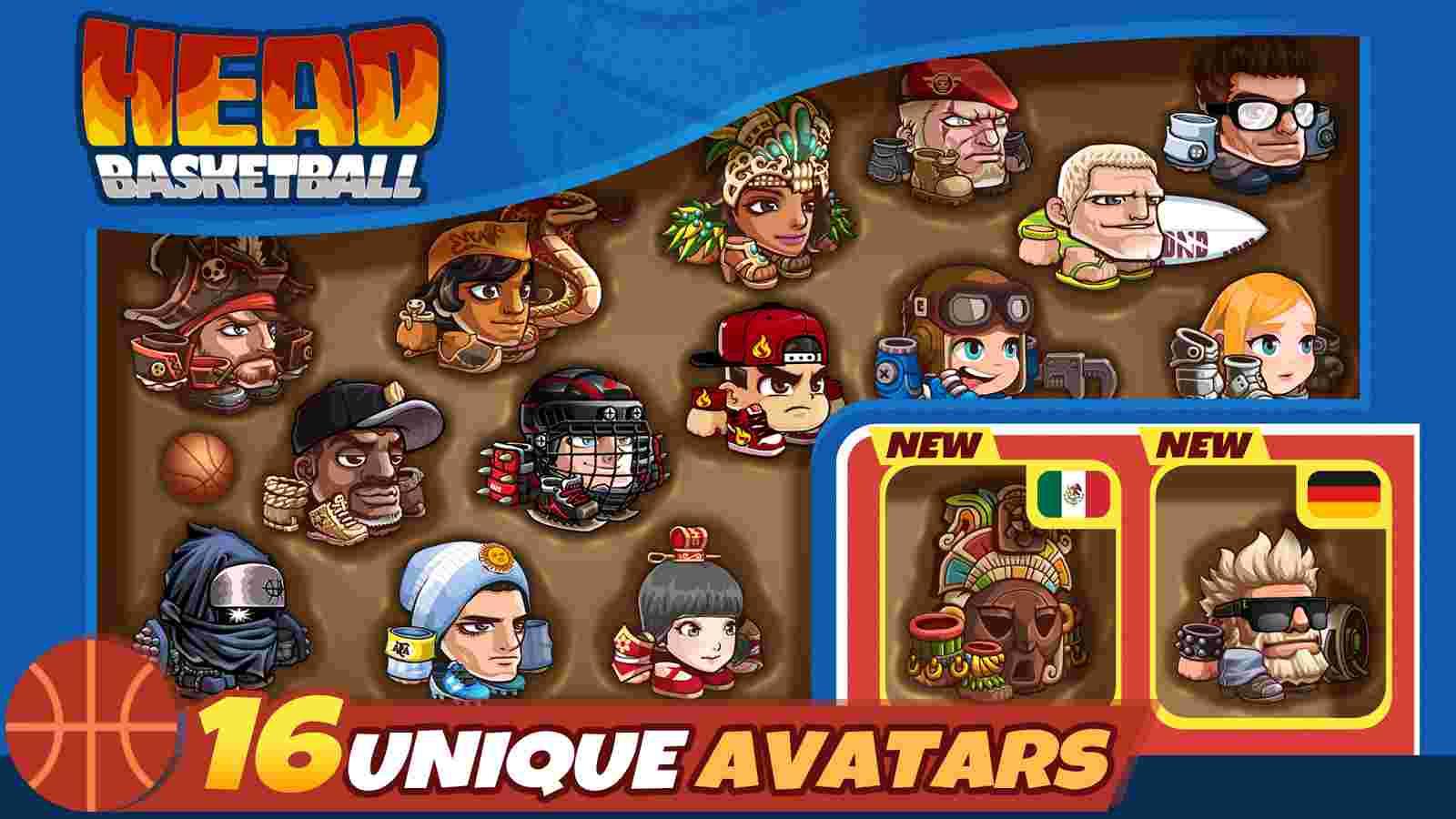 game Head Basketball mod apk