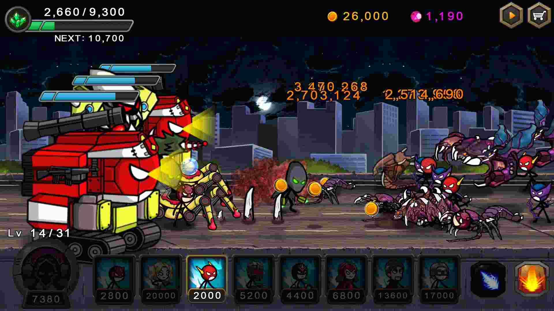 game Hero Wars mod hack
