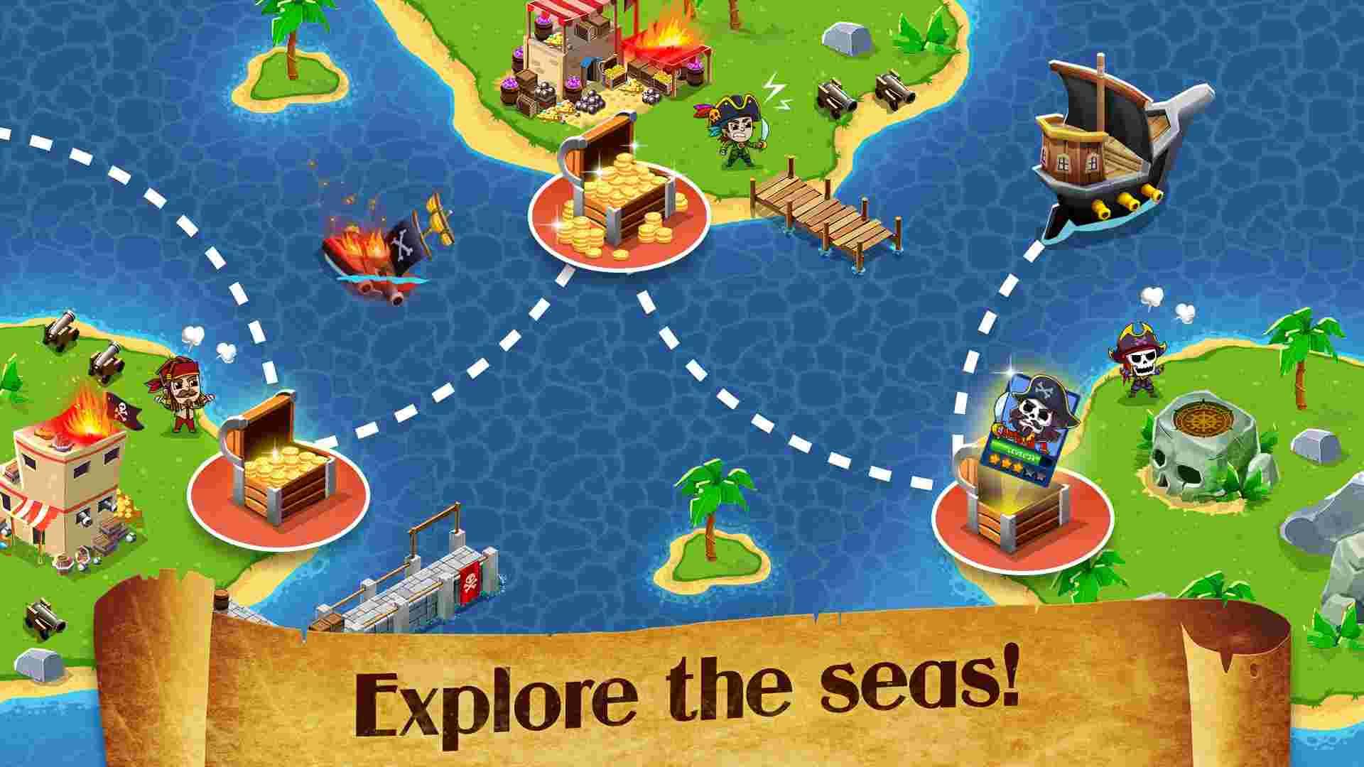 game Idle Pirate Tycoon mod