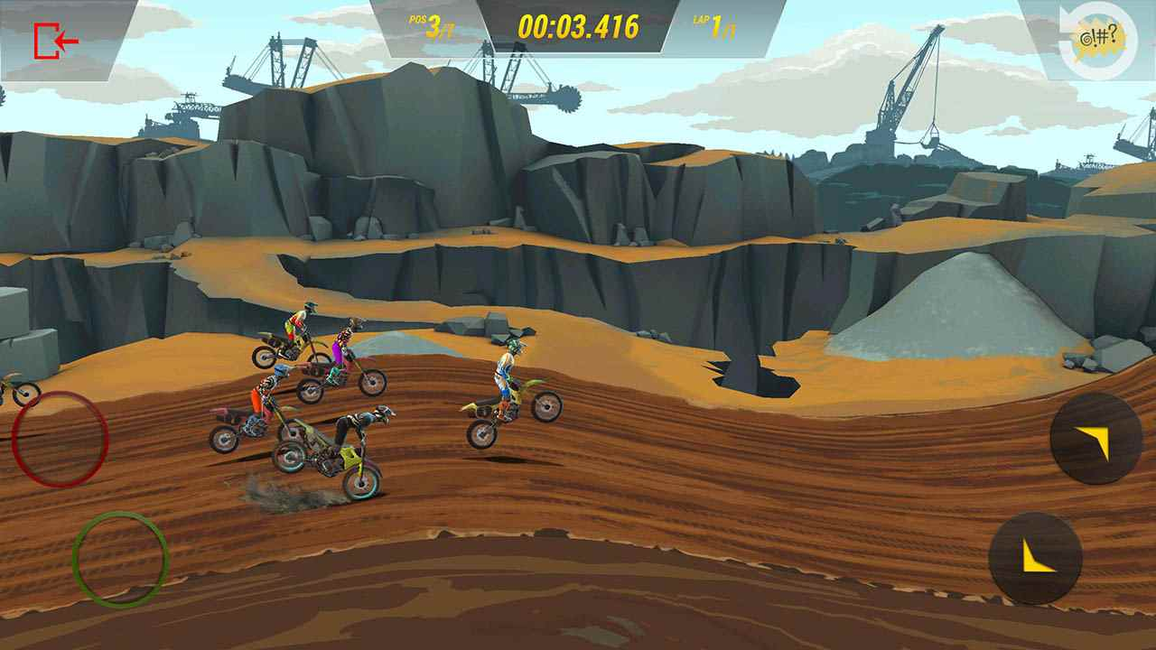 game Mad Skills Motocross 3 mod apk