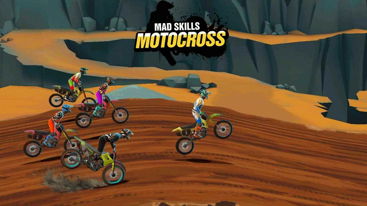 game Mad Skills Motocross 3 mod