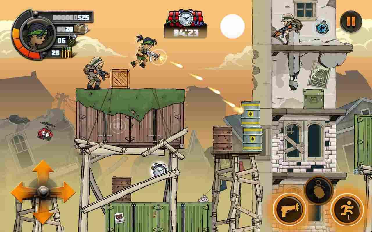game Metal Soldiers 2 mod