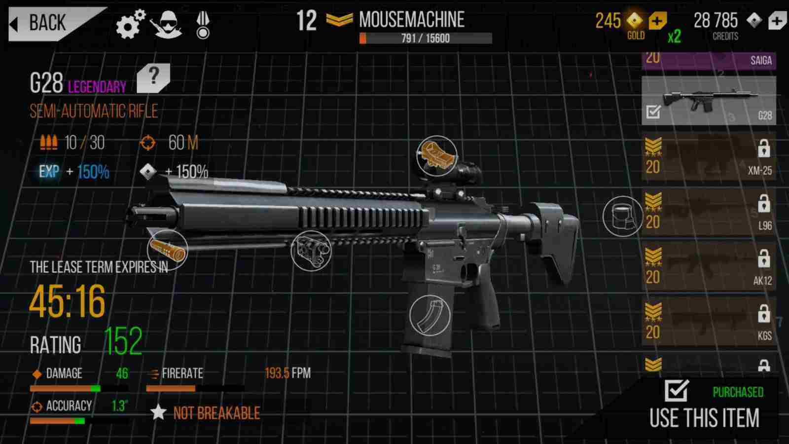 game Modern Strike Online mod hack