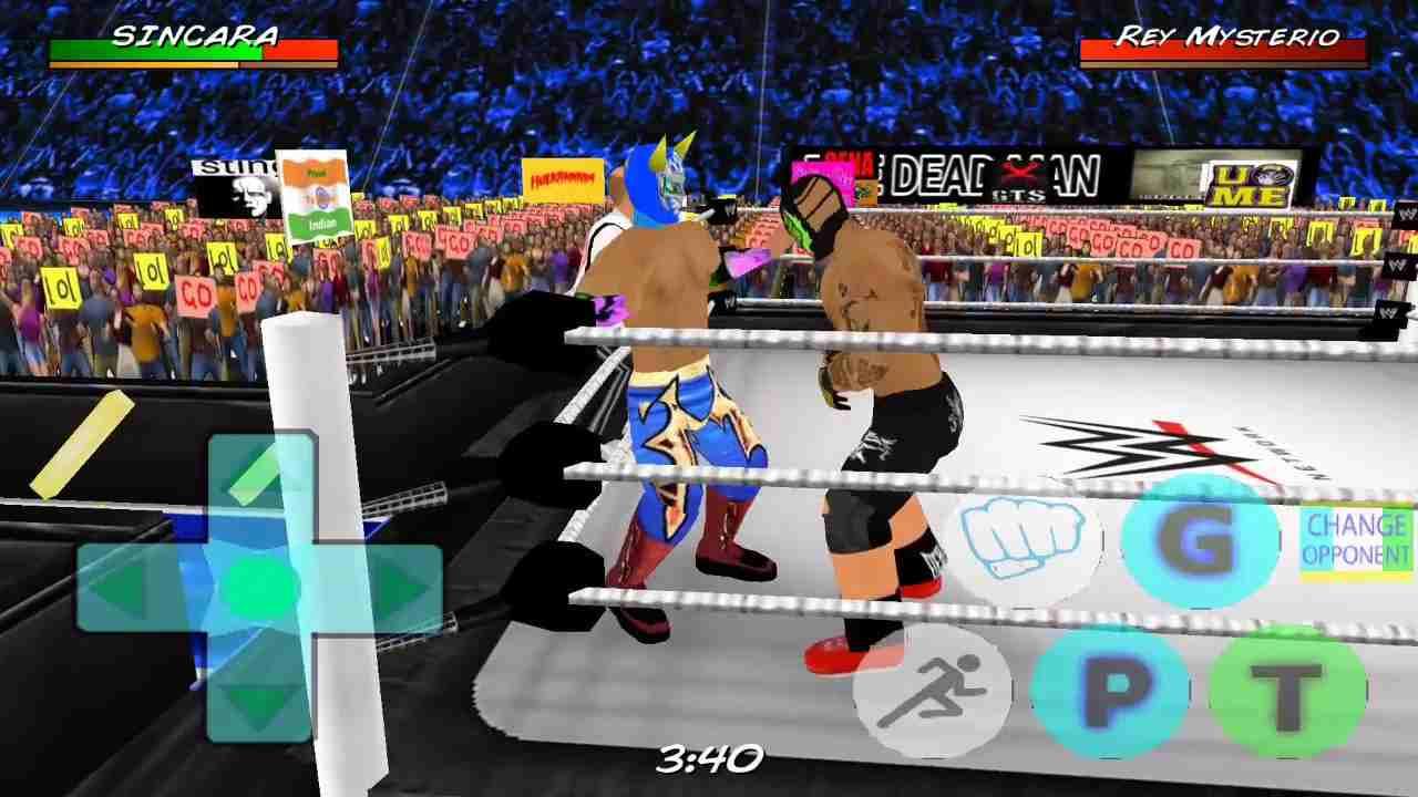 game Wrestling Revolution 3D mod