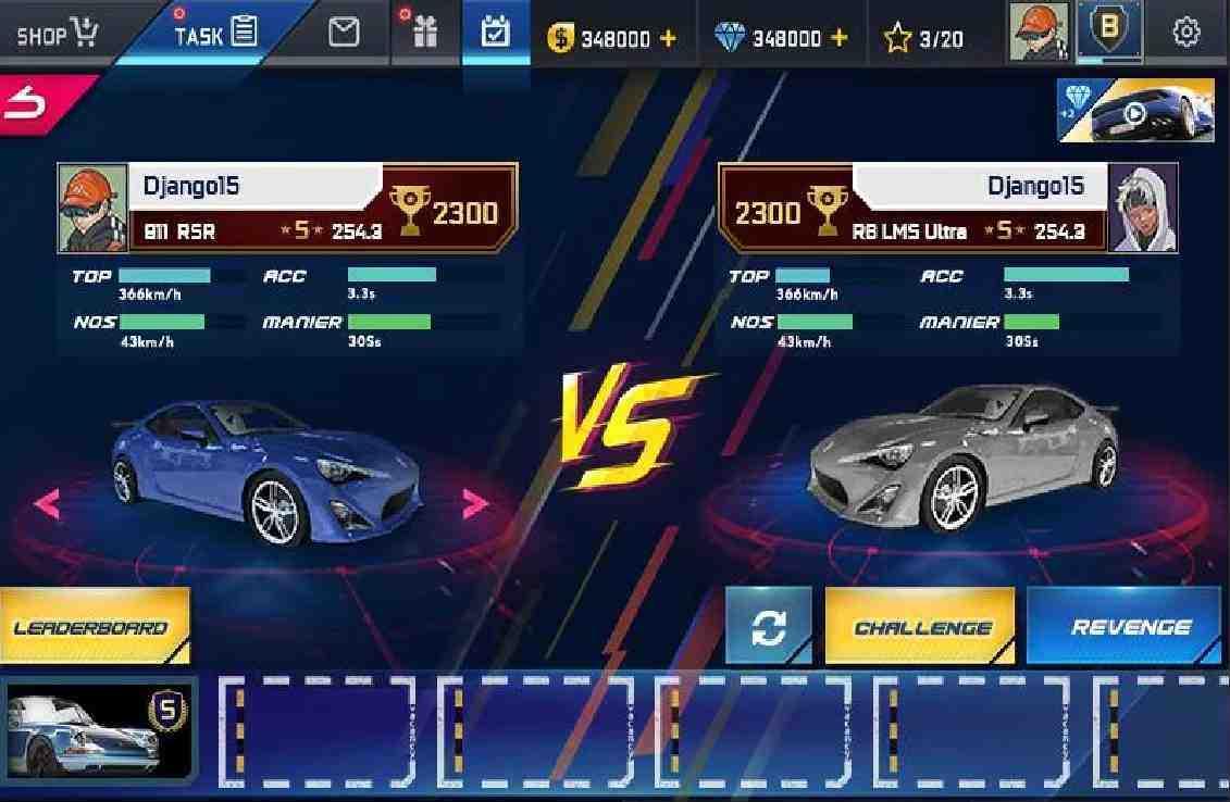 tai game Street Racing HD mod apk