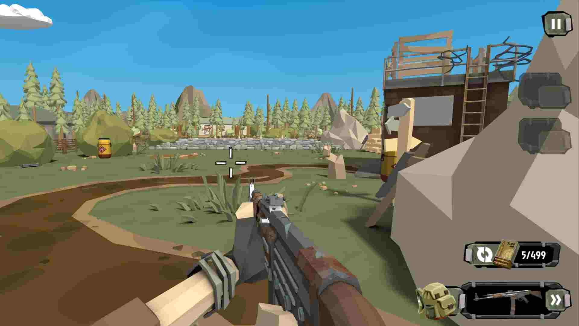 Game The Walking Zombie 2 Mod
