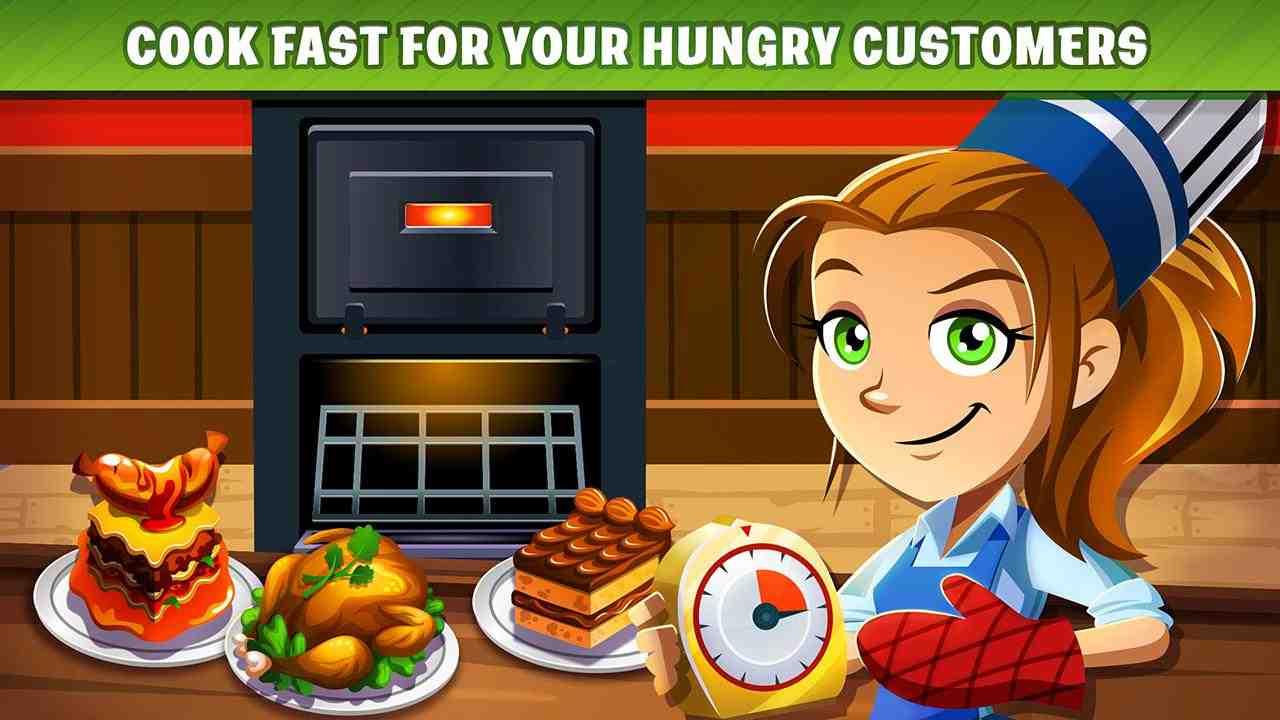 game Cooking Dash mod hack