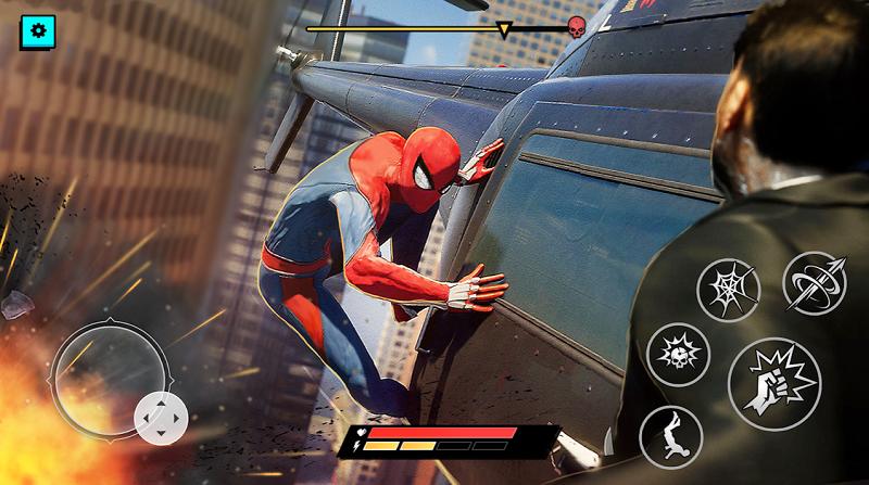 Mod Spider Hero Superhero Fighting