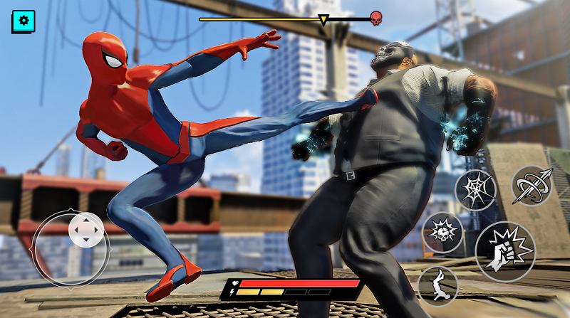 Spider Hero Superhero Fighting Mod
