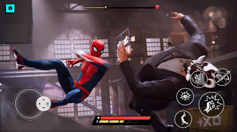 Spider Hero Superhero Fighting