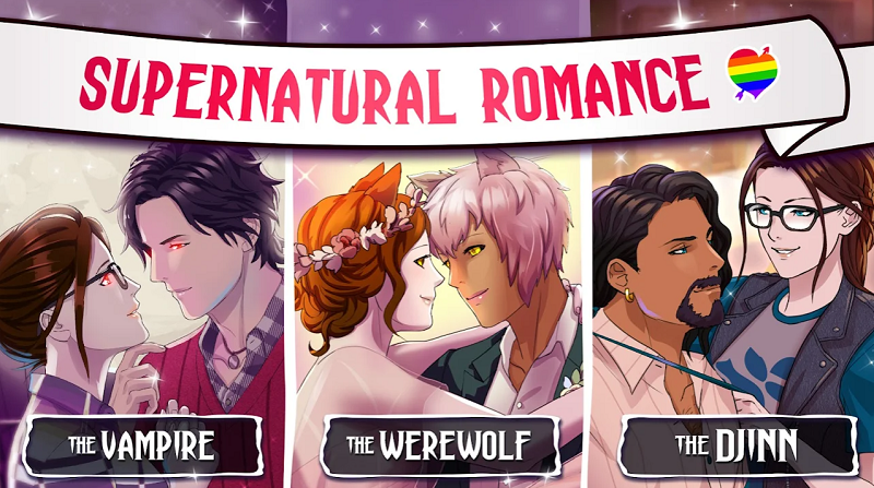 Mod Lovestruck Choose Your Romance