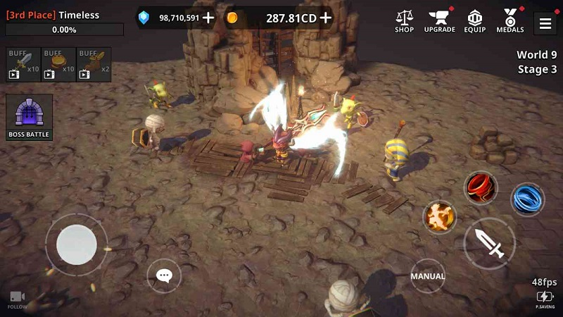 Dungeon Knight 3D Idle RPG Mod