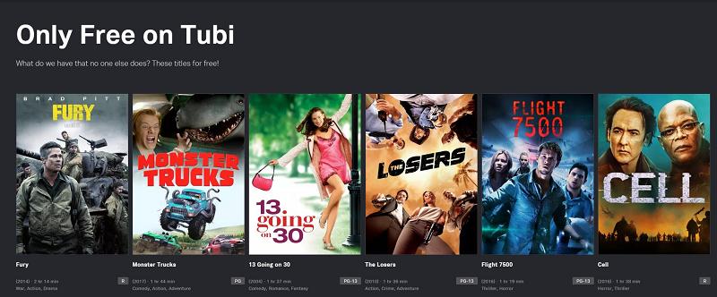 Ban Mod Cua Tubi Movies TV Shows