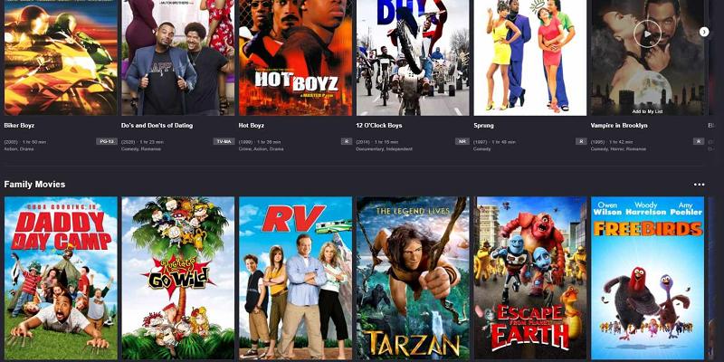 Mod Tubi Movies TV Shows