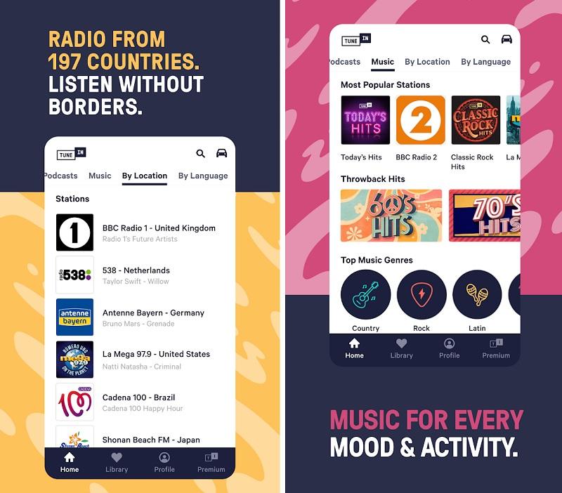 mod TuneIn Radio Pro