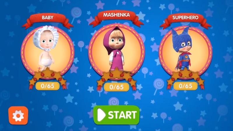 Masha and the Bear Child Games mod
