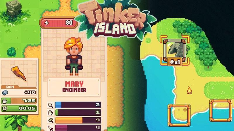 Mod Tinker Island