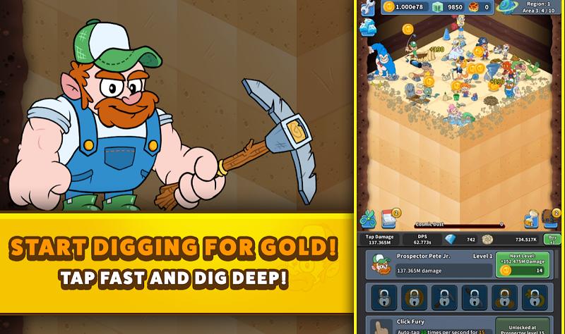 Tap Tap Dig 2 Idle Mine Sim Mod Apk