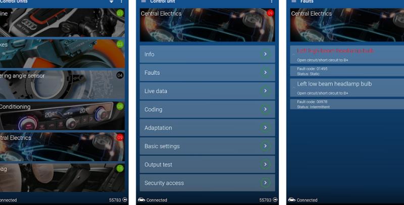 Mod OBDeleven Car Diagnostics